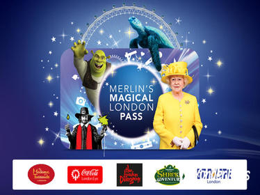Magical London Pass Including Madame Tussauds London, The London Eye, SEA LIFE London, The London Dungeon and Shrek's Adventure! London