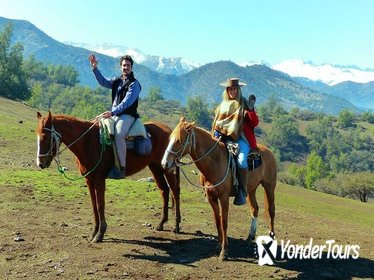 Maipo Canyon: Morning Horseback Ride and Afternoon Wine Tour & Tasting
