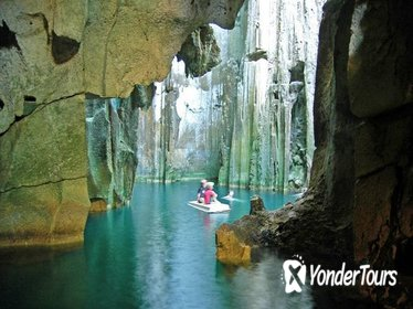 Majestic Sawa-I-Lau Caves Day Trip by Seaplane