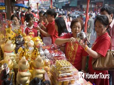 Markets Tour and the Golden Buddha Temple
