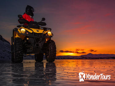 Midnight Sun ATV Quad Adventure from Reykjavik