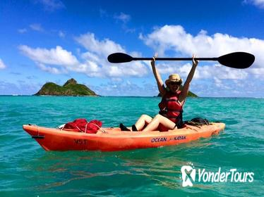Mokulua Islands Full-Day Guided Kayak Tour from Kailua Beach