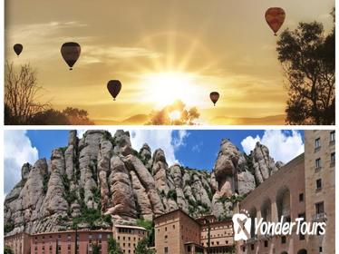 Montserrat Monastery Tour & Hot Air Balloon Flight, Including Transfer, Lunch, Photos, Cava