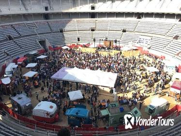 Monumental de Barcelona Admission Ticket with Music and Street Food