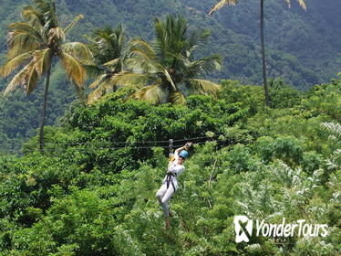 Morne Coubaril Estate Horseback Ride and Zipline