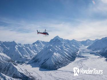 Mount Cook Mountains High Helicopter Flight