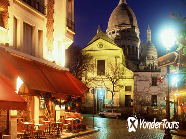 Musical Dinner at Montmartre and Moulin Rouge Show with Champagne