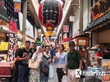 Muslim-Friendly Walking Tour of Osaka with Halal Lunch