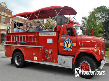 Narrated Sightseeing Tour of Portland, Maine, Aboard a Vintage Fire Engine