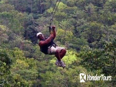 Negril Zipline 7 mile beach and Rick's Cafe combo tour