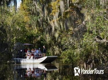 New Orleans Airboat Ride with Transportation