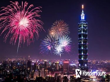 New year's eve limited special tour: Cruise with Taipei 101 firework show
