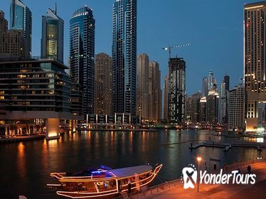 Night Dhow Cruise from Dubai Marina
