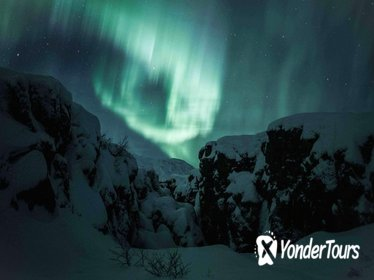 Northern Lights and Glacier Hiking Day Trip from Reykjavik