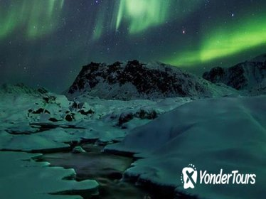 Northern Lights Guided Tour on Snowmobile from Ilulissat