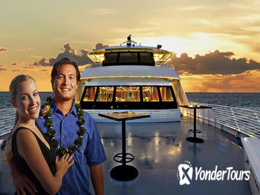 Oahu Sunset Dinner Cruise with Live Hawaiian Entertainment