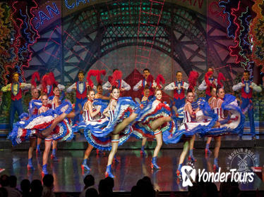 One Hour Seine River Cruise and Moulin Rouge Show