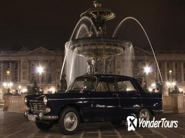 Paris Left Bank Tour by 1963 Peugeot 404