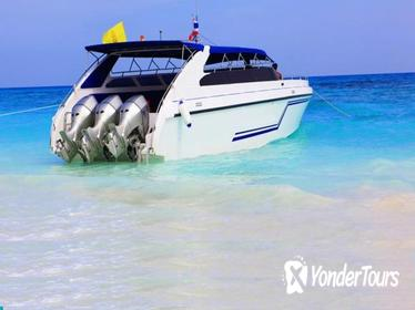 Phi Phi, Maya Bay Khai Island speed boat with Private Transfer