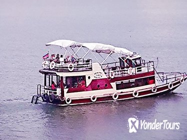 Phnom Penh Sunset Cruise Including BBQ and Drinks