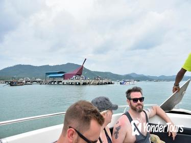 Phuket to Koh Yao Yai by Green Planet Speed Boat