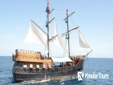 Pirate Ship Day Sail to Soufriere Including Buffet Lunch