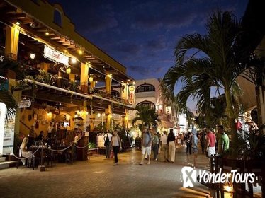 Playa del Carmen-Quinta Avenida Evening Tour with Dinner from Cancun