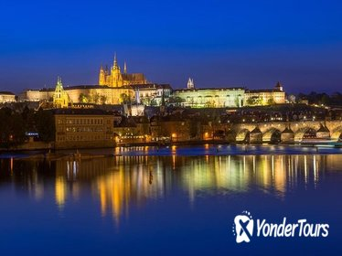 Prague Buffet Dinner Cruise with Music including Hotel Transport