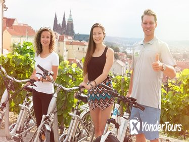 Prague Electric Bike Small Group Guided Tour