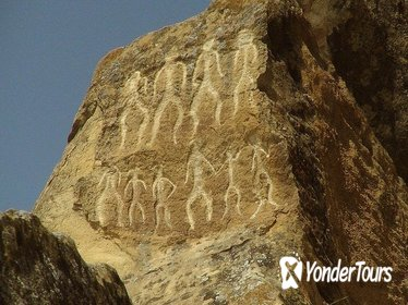 Prehistoric Stones and Unusual Volcanoes Tour from Baku