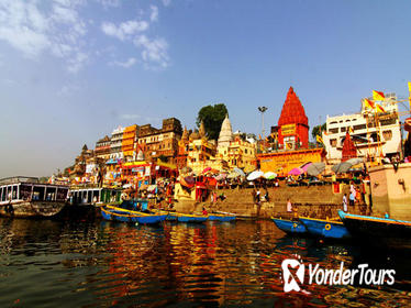Private 3-Night Varanasi and Delhi Tour Round-Trip from Delhi by Train