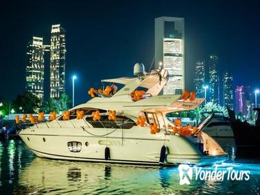 Private Abu Dhabi Yacht Dinner Cruise with 3-Course Dinner