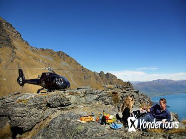 Private Champagne Picnic on a Peak with Helicopter Ride