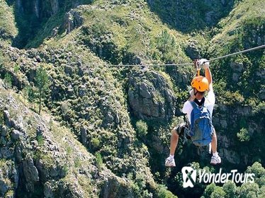 Private Full Day Ziplining Day Tour from Cape Town