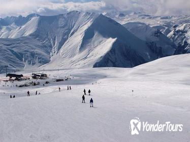 Private Full-Day Tour to Gudauri Skiing Resort from Tbilisi