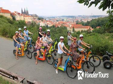 Private Grandiose half-day Prague's city trip on Segway and E-Scooter
