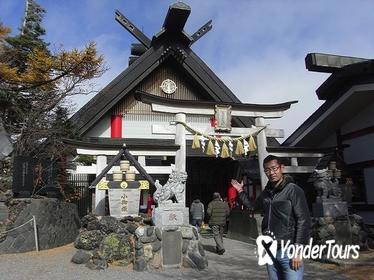 Private Mt Fuji and the Gotemba Outlet in One Day from Tokyo