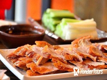 Private Peking Duck Dining Experience with Outdoor Hot Spring in Beijing