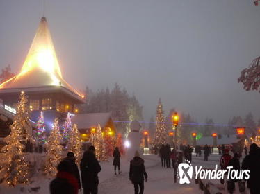 Private Rovaniemi Snowmobile Tour: Visit a Reindeer Farm and Meet Santa