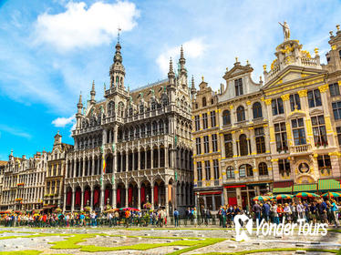 Private Tour: Brussels Sightseeing Tour Including View of the City from the Basilica Dome