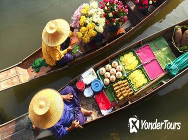 Private Tour: Damnoen Saduak Floating Market and Bangkok City Temples