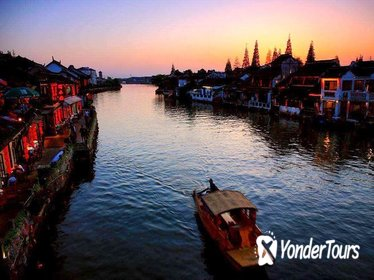 Private Zhujiajiao Sunset Tour from Shanghai with Spa Option