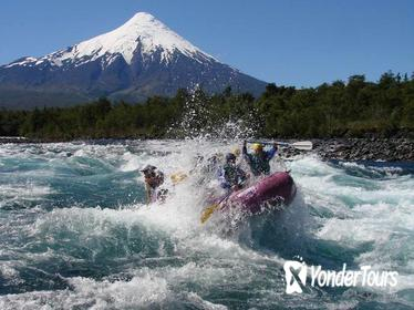 Rafting the Petrohue River from Puerto Montt