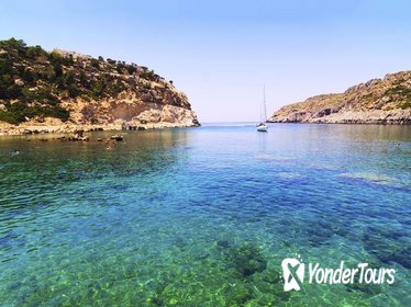 Rhodes East Coast Day Cruise with Kalithea Spa Trip