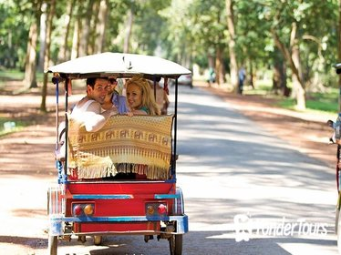 Rickshaw Adventure Tour from Bangkok : Bangkok Jungle Exploration