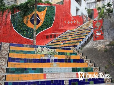 Rio de Janeiro Main Landmarks Tour Including Christ the Redeemer and Selaron Steps