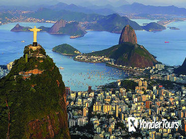 Rio's Best - Corcovado, Sugar Loaf, Sambadrome, Selaron Stairs and more