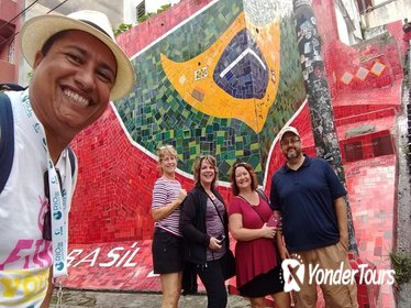 Rio's longest historical walking tour with Santa Teresa Lapa Centro and Port