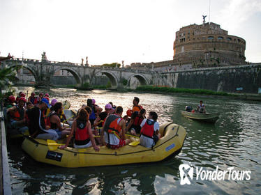 Rome Tiber Sightseeing tour by Fun Eco Boats in the City Center