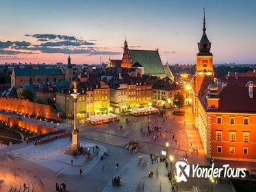 Royal Castle&Warsaw Old Town and Palace of Culture&Science: Only Your Group Tour